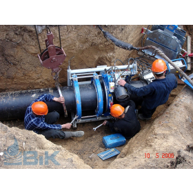 Сварка трубопровода