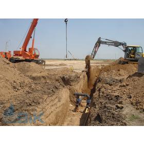 Будівництво трубопроводу