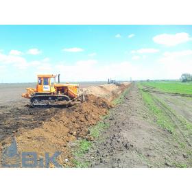 Окончание строительства трубопровода