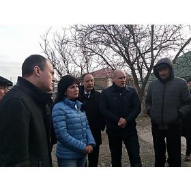 Встреча с жителями Терновки