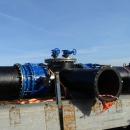 монтажу узла переключения на новой ветке водопровода